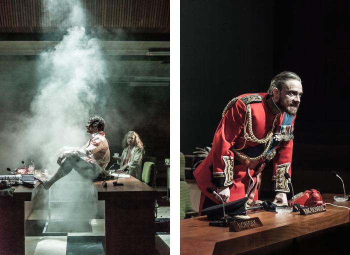トラファルガー・トランスフォームド『リチャード三世』 撮影:Marc Brenner、写真提供:Trafalgar Transformed