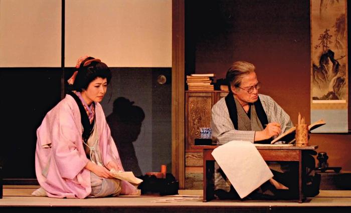 みつわ会第18回公演『万太郎と松太郎』より「遊女夕霧」