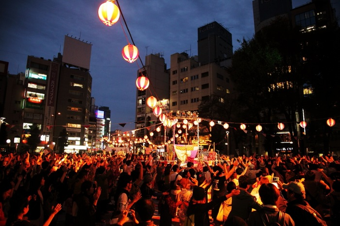 『フェスティバルFUKUSHIMA!@池袋西口公園』 撮影=菊池良助