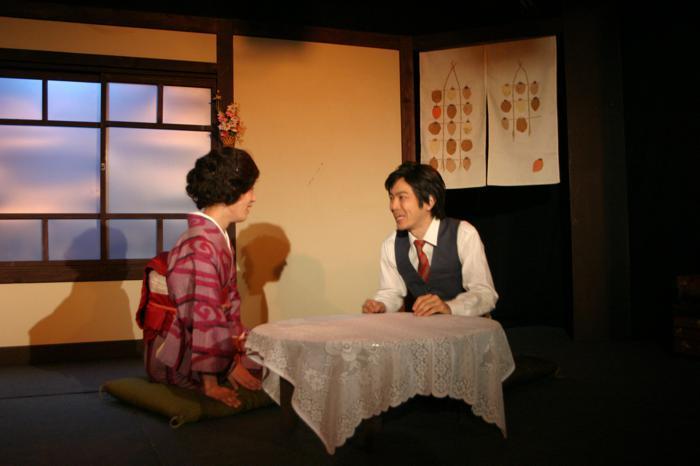 劇団潮流『第一の春』 作=長谷川伸、演出=藤本栄治 2014年12月、潮流スタジオ 撮影=林慎吾