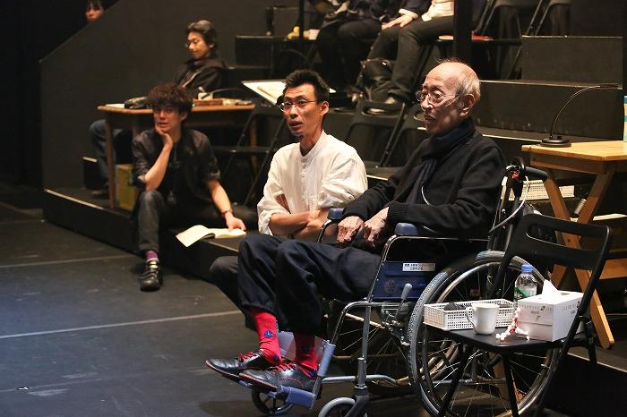 さいたまネクスト・シアター第6回公演『リチャード二世』、2015年3月撮影) 撮影:宮川舞子