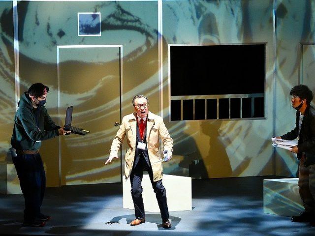 『ザ・空気ver.3 そして彼は去った…』(二兎社第44回公演、東京芸術劇場シアターイースト)第7回座談会演劇時評1(2021年1・2月上演分)